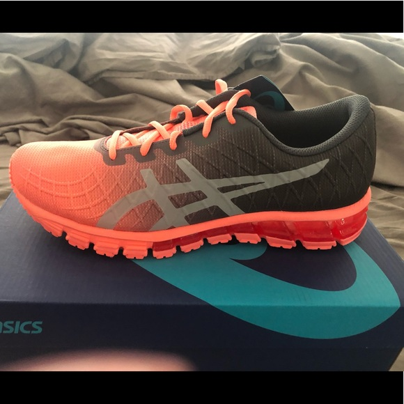 asics gel quantum 180 4 noir orange